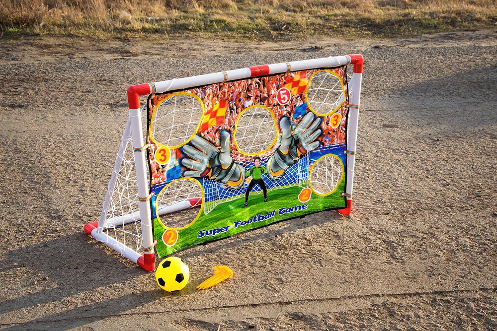 Fussballtor mit Torwand KP2113 Gartenspielzeug Fußball Kinder ...