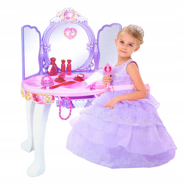 schminktisch spielzeug frisiertisch m dchen kp2362 spielzeug mit mp3 anschluss ebay. Black Bedroom Furniture Sets. Home Design Ideas