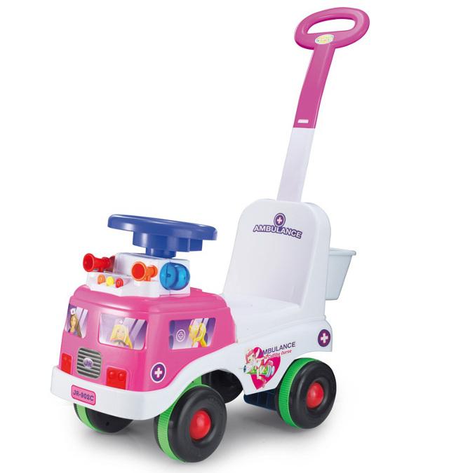 rutschauto in rosa kp2393 rutschfahrzeug lauflernwagen. Black Bedroom Furniture Sets. Home Design Ideas