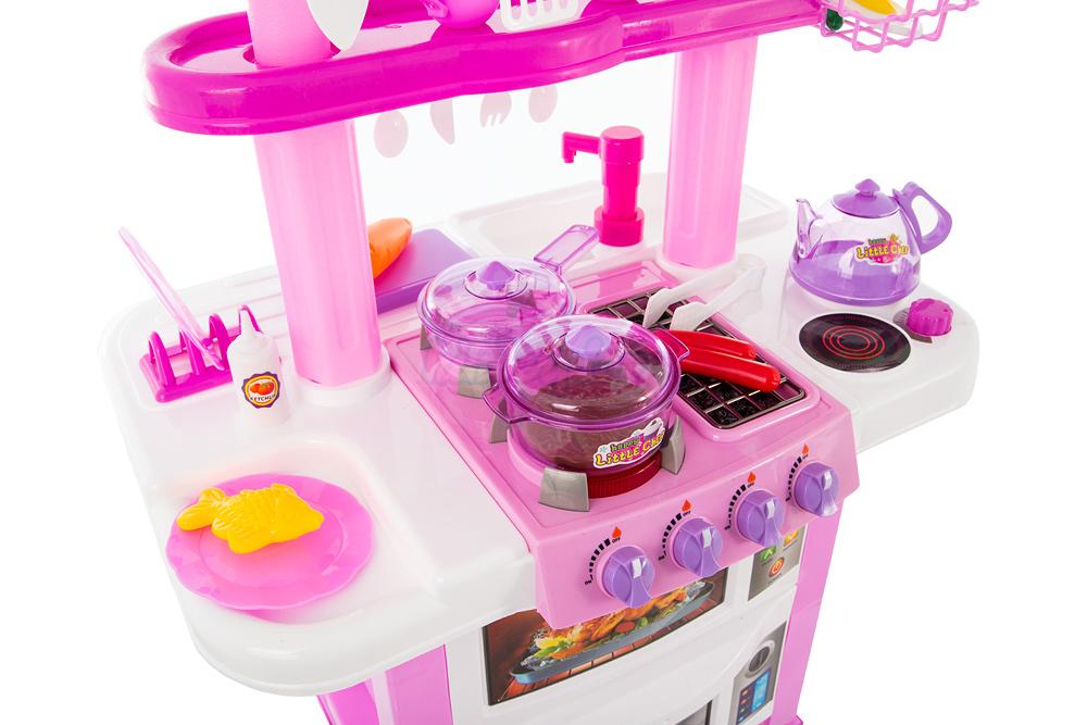 spielk che spielzeug kinder k che rosa mit zubeh r kinderk che spielzeug kp4934 ebay. Black Bedroom Furniture Sets. Home Design Ideas