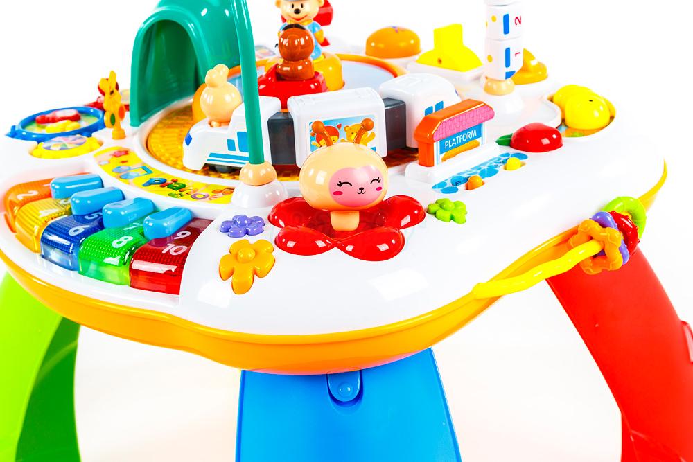 Spieltisch KP6337 Musikalisches Spielzenter Spieltisch mit Musik ...