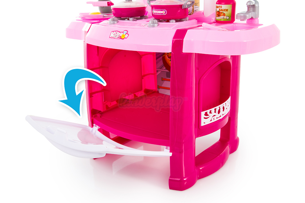 kinderk che kp6707 spielk che rosa spielzeug kinder k che zubeh r kinderplay neu ebay. Black Bedroom Furniture Sets. Home Design Ideas