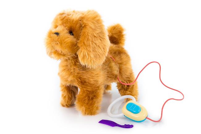 Interaktive kp spielzeug hund mit fernbedienung belt