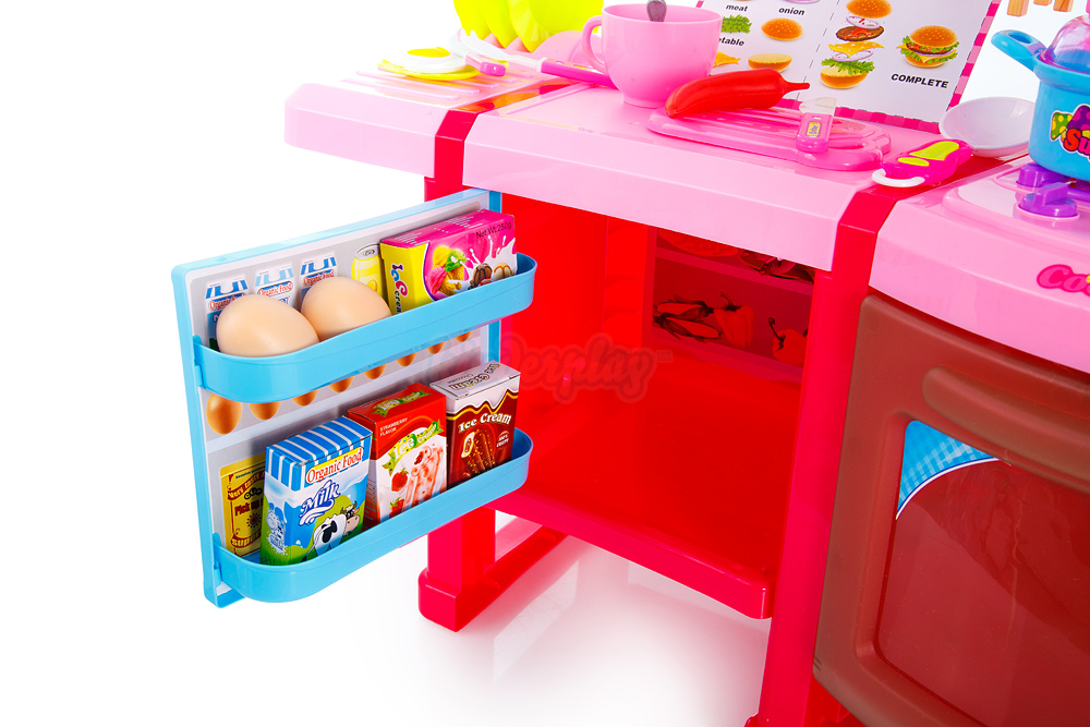 Spielküche Spielzeug Kinder Küche mit Zubehör Rosa Kinderküche NEU ...