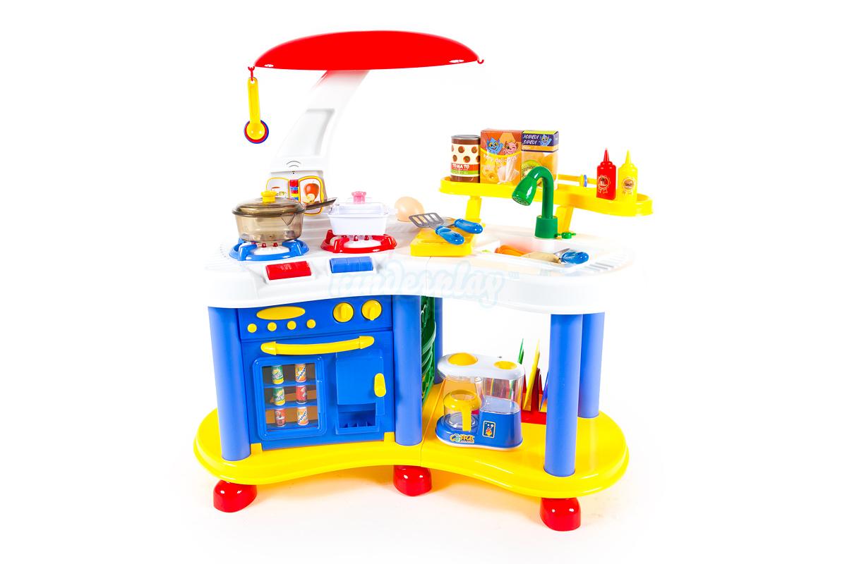 kinderküche spielküche kinder küche kp9401 blau kinderspielküche