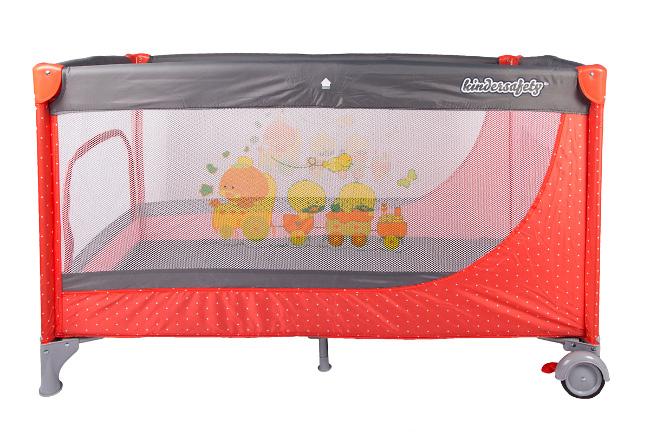 babybett kinder baby reisebett bett klappbett inkl moskitonetz neu salmon ebay. Black Bedroom Furniture Sets. Home Design Ideas