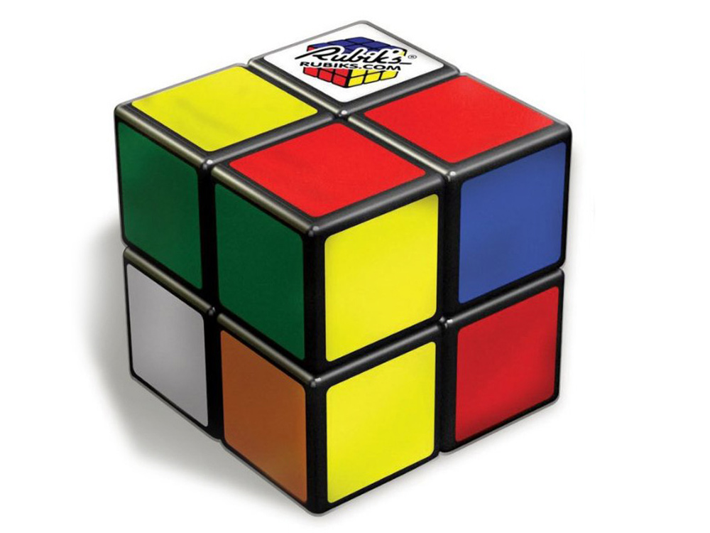 rubik s cube zauberw rfel rub2001 rubik 39 s 2x2 w rfel geschicklichkeitsspiel neu ebay. Black Bedroom Furniture Sets. Home Design Ideas