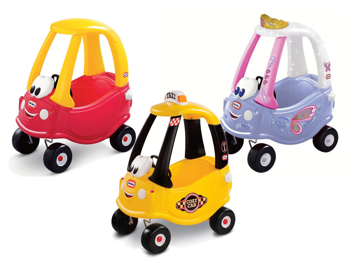 Little Tikes Ride On Toys : Little tikes ride on push along car walker cozy coupe kinderplay